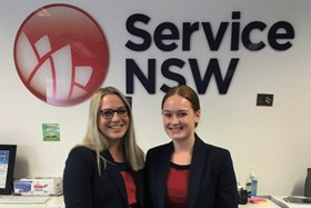Service NSW trainees