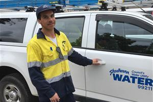HVTC Indigenous Apprentice Trainee of the Year Koby Williams